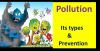 Pollution Types Causes and Control for kids